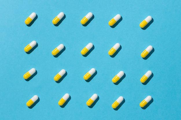 Arranjo mínimo de pílulas medicinais