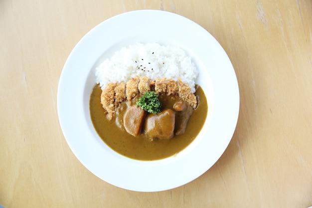Arroz com curry