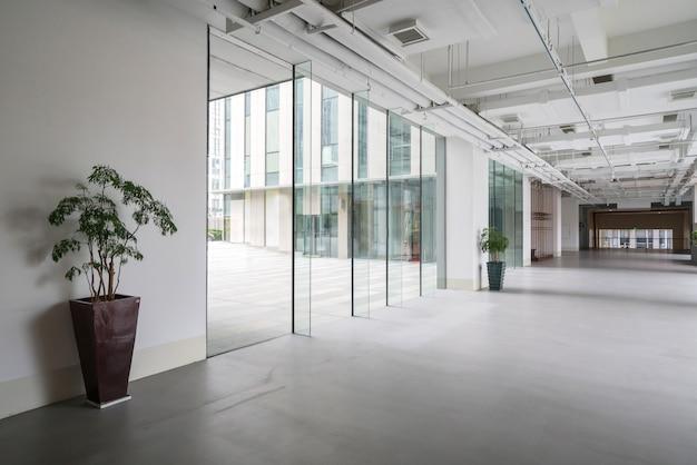 Art center interior space