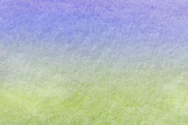 Arte abstracta fundo azul claro e cores verdes