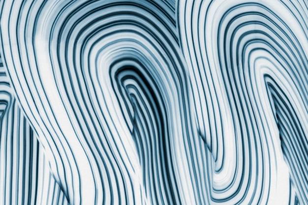 Arte abstrata com padrão ondulado de fundo azul legal texturizado