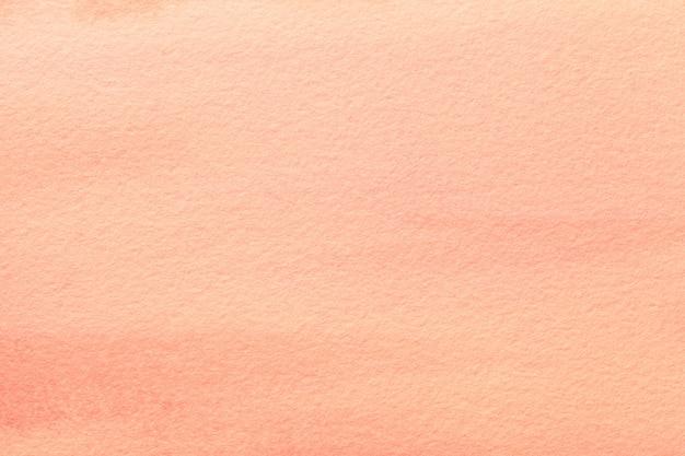 Arte abstrata cor coral luz de fundo, pintura multicolor na lona.