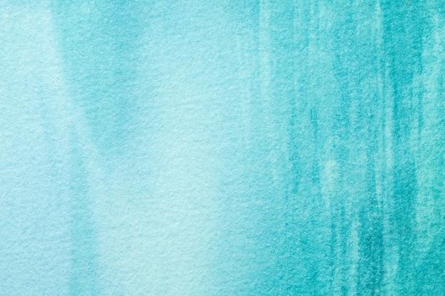 Arte abstrata cores azuis e turquesas.