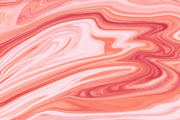 Arte abstrata de bela pintura de mármore