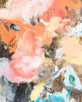 Arte abstrata desarrumada texturizada pintura