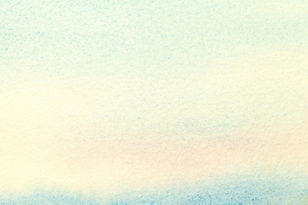 Arte abstrata fundo azul claro e cores turquesas.