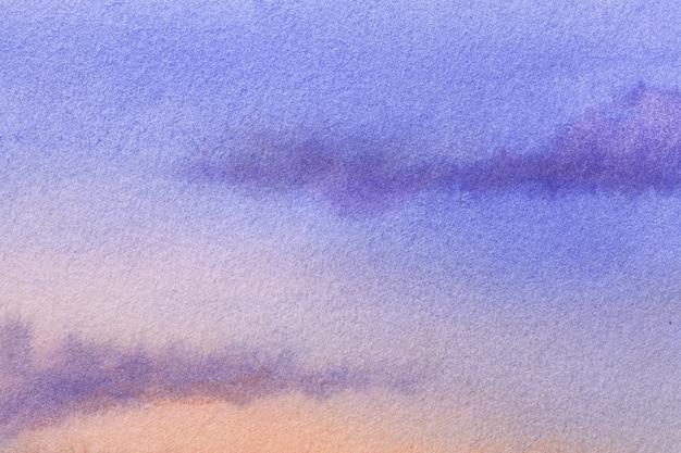 Arte abstrata fundo azul marinho e cores corais.