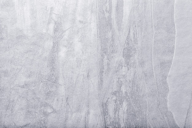 Arte abstrata fundo cinza claro e prata cor