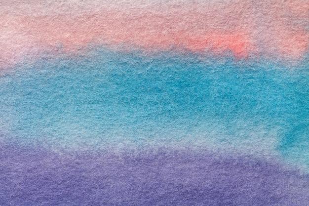 Arte abstrata fundo luz azul e rosa