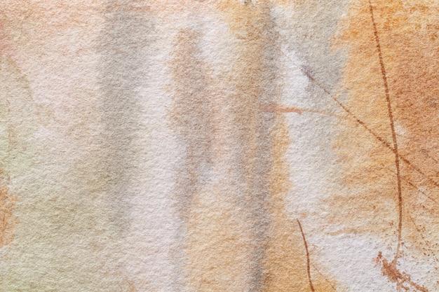 Arte abstrata fundo marrom claro e bege.