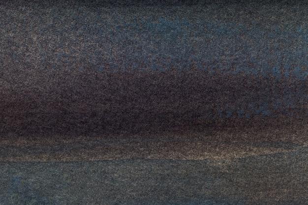 Arte abstrata fundo preto e cinza escuro cor, multicolor pintura sobre tela,