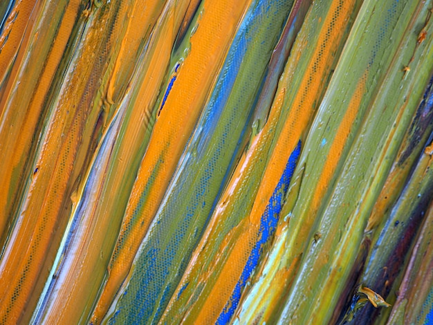 Arte colorida do brushstroke no fundo do sumário da lona e textured.
