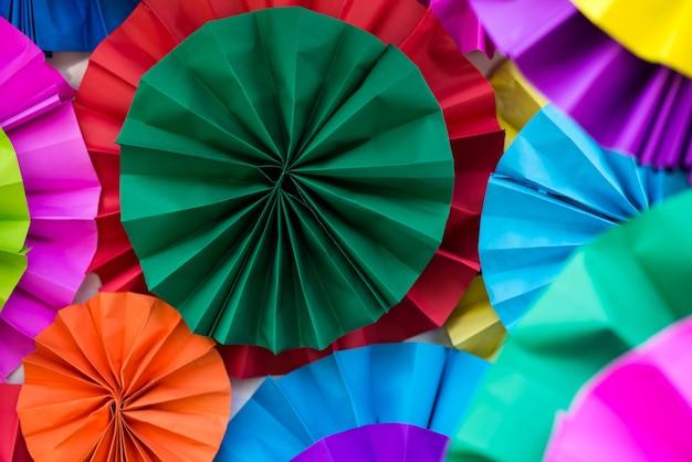 Arte de papel colorido