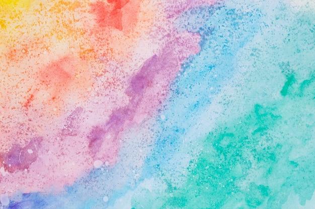 Arte em aquarela mão pintar o plano de fundo colorido