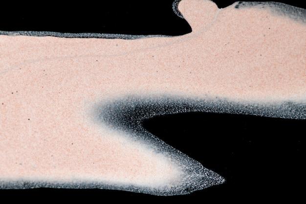 Arte experimental artesanal de fundo de mármore líquido abstrato