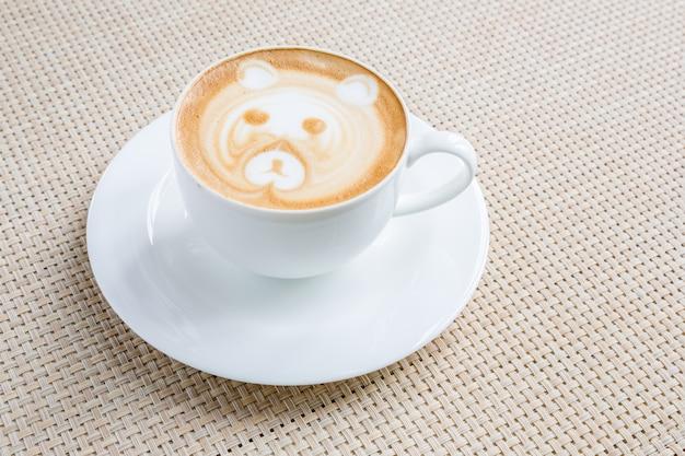 Arte latte de café