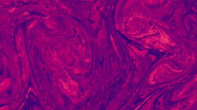 Arte surpreendente textura vermelho e azul água abstrato