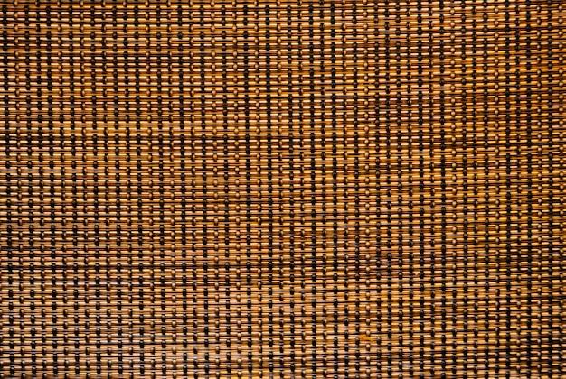 Artesanato de vime, grade, textura de madeira