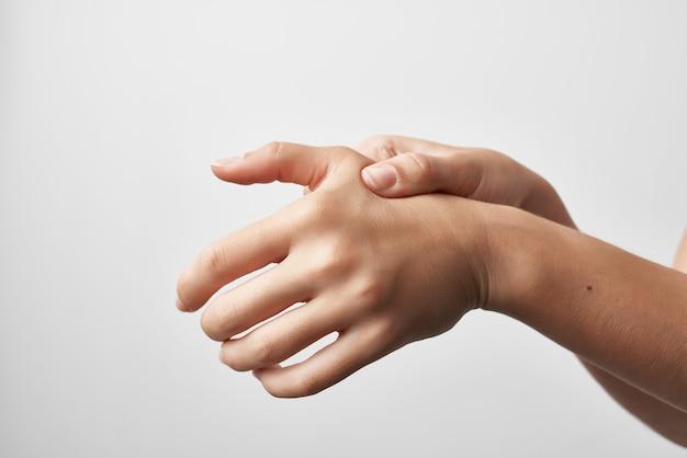 Artrite lesão nas mãos, problemas de saúde, tratamento, remédio