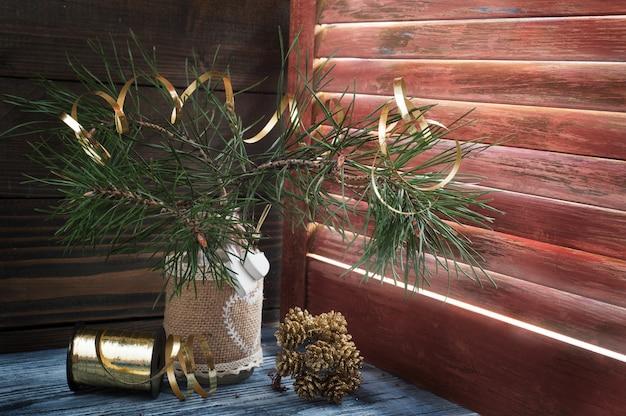 Árvore de natal em estilo escandinavo