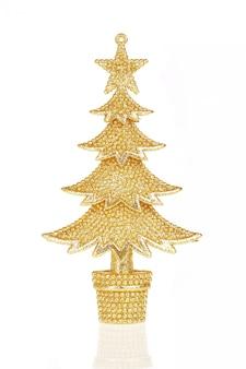 Árvore de pele de ouro de natal