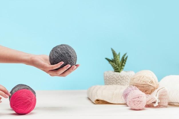As bolas de lã