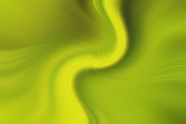 As cores amarelas borradas torcem o efeito colorido da onda para o fundo, o inclinação da ilustração no arco-íris do redemoinho da arte da cor da água e na cor doce