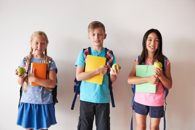 As crianças estão totalmente preparadas para a educação