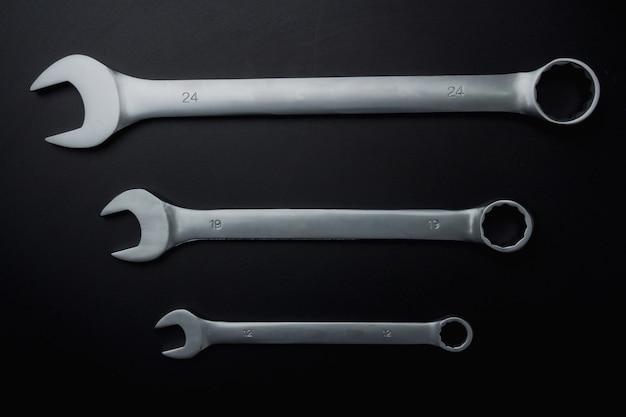 As ferramentas de aço chave para reparação