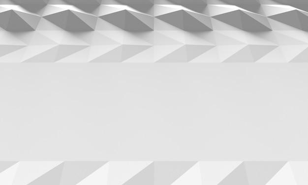 As formas geométricas 3d copiam o fundo do espaço
