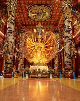 As imagens de guanyin, deus chinês
