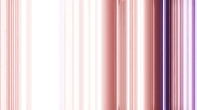As linhas de gradiente do arco-íris renderizam em 3d.
