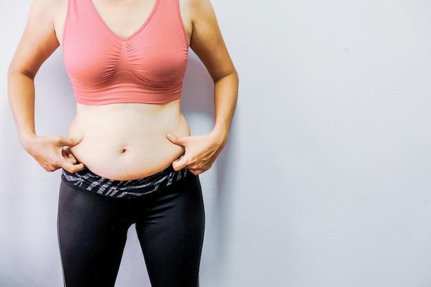 As mulheres com obesidade querem se exercitar para serem saudáveis.