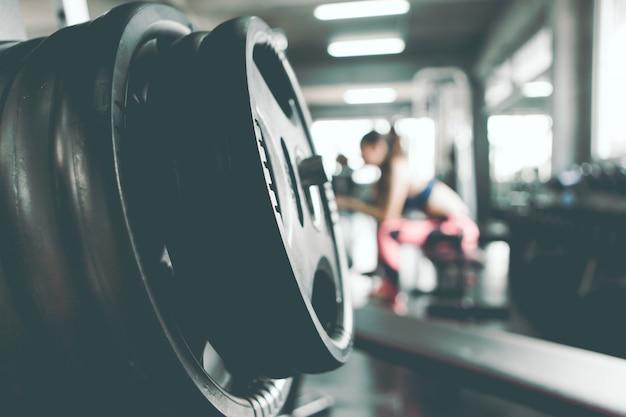 As mulheres estão se exercitando