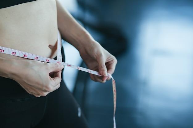 As mulheres medem a proporção