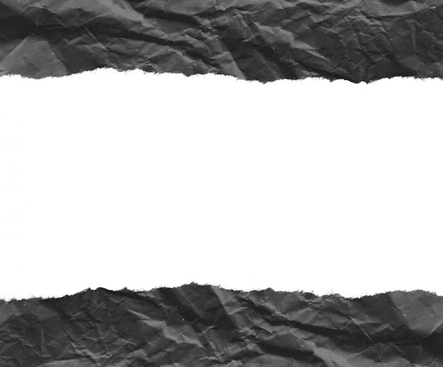 As partes de papel rasgado texture o fundo, copiam o espaço.