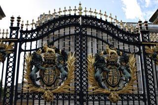 As portas do palácio de buckingham