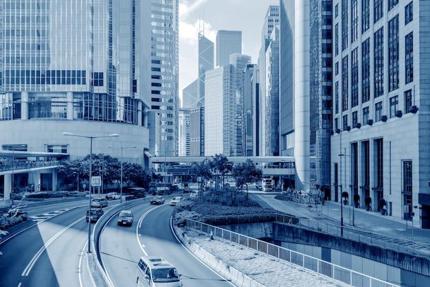 As ruas de hong kong