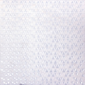 As telhas abstraem a indústria cerâmica do objeto de superfície do fundo