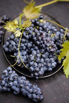 As uvas são uma antiga variedade de vinhos cabernet sauvignon