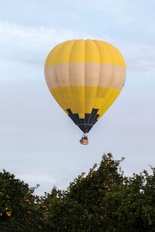 Ascensão do festival de balões de ar quente