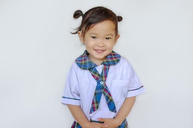 Asiática bonito feliz