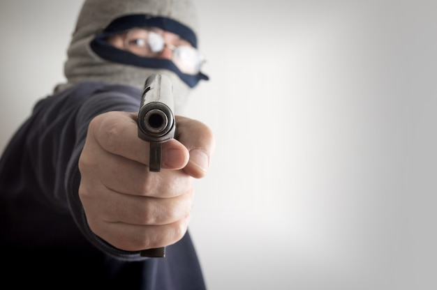 Assalto à mão armada anônimo