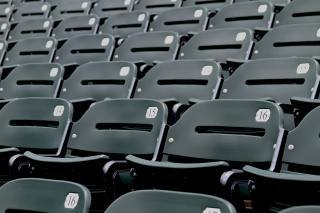 Assento do estádio, o evento