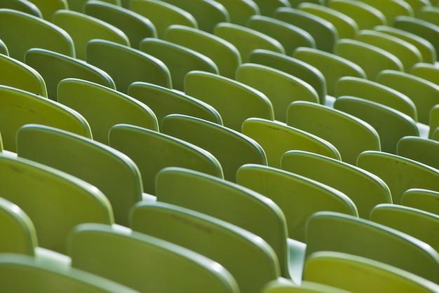 Assentos de um estádio
