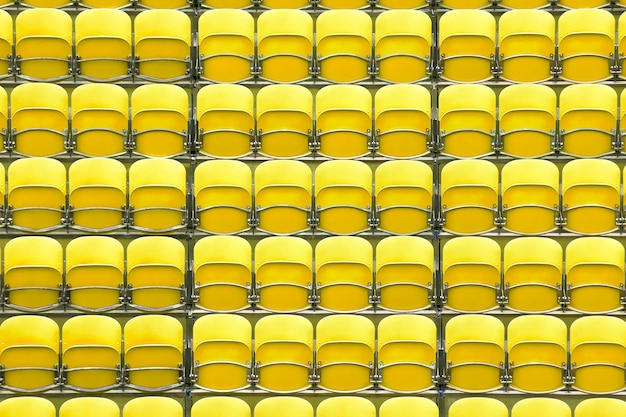 Assentos no estádio