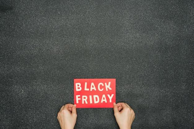 Assinar com liquidação de sexta feira negra