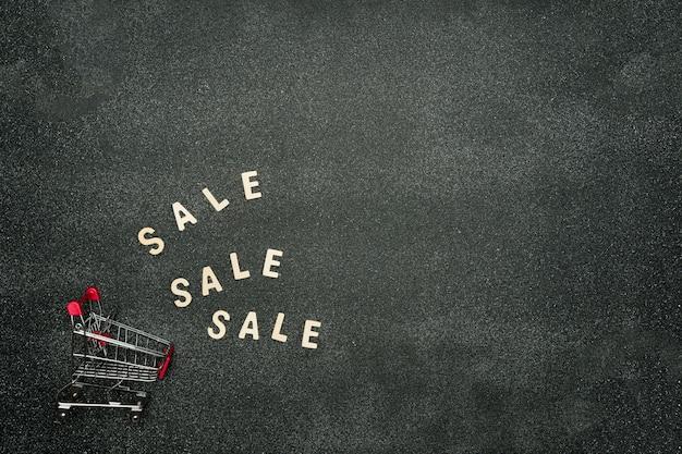 Assine com venda de sexta-feira negra, conceito de compras e vendas. mensagem publicitária em fundo preto.