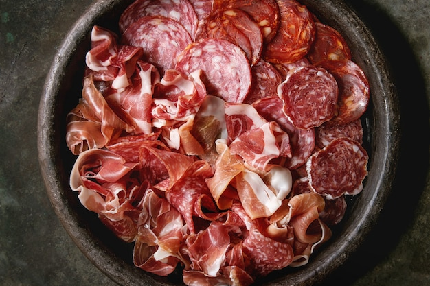 Assorti prato de carne