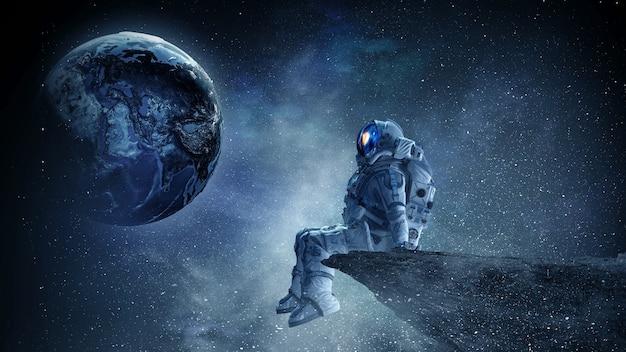 Astronauta e espaço